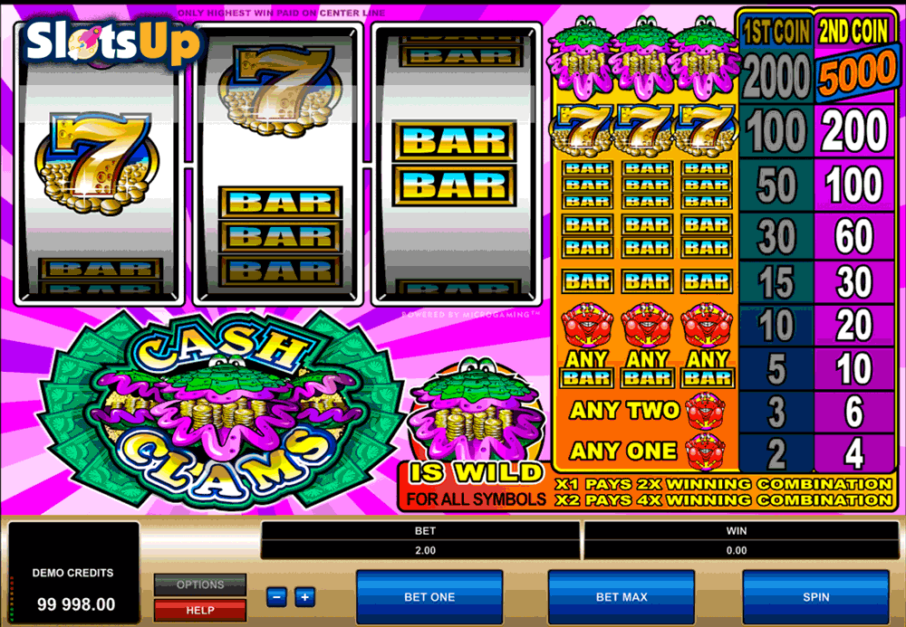 Slot machine microgaming 32711