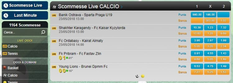 Scommesse non AAMS 98320